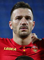 PODGORICA, MONTENEGRO - JUNE 07: Marko Simic of Montenegro before the 2020 UEFA European Championships group A qualifying match between Montenegro and Kosovo at Podgorica City Stadium on June 7, 2019 in Podgorica, Montenegro MB Media