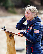 EAST MONTPELIER - USA Vermont Olympians speak at Morse Farm about the influence of climate change on winter sports they have experienced world wide and make suggestions on attacking the problem. Speaking, Liz Stephens.