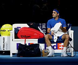 November 11, 2018 - Londres, France - Swiss player  Roger Federer  (Credit Image: © Panoramic via ZUMA Press)