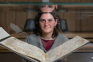 Alba Fedeli, who was studying items in the Mingana Collection of Middle Eastern Manuscripts for her PhD thesis Early Qur'ānic manuscripts, their text, and the Alphonse Mingana papers held in the Department of Special Collections of the University of Birmingham, found the two leave. <br /> ___<br /> A Qur&rsquo;an manuscript held by the University of Birmingham has been placed among the oldest in the world thanks to modern scientific methods.<br /> <br /> Radiocarbon analysis has dated the parchment on which the text is written to the period between AD 568 and 645 with 95.4% accuracy. The test was carried out in a laboratory at the University of Oxford. The result places the leaves close to the time of the Prophet Muhammad, who is generally thought to have lived between AD 570 and 632.<br /> <br /> The Qur&rsquo;an manuscript will be on public display at the University of Birmingham from Friday 2 October until Sunday 25 October and then at the Birmingham Museum and Art Gallery in 2016.