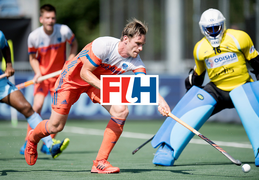BREDA - Rabobank Hockey Champions Trophy<br /> The Netherlands - India<br /> Photo: Mirco Pruyser.<br /> COPYRIGHT WORLDSPORTPICS FRANK UIJLENBROEK