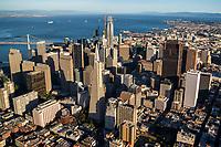 Downtown SF featuring Transamerica Pyramid