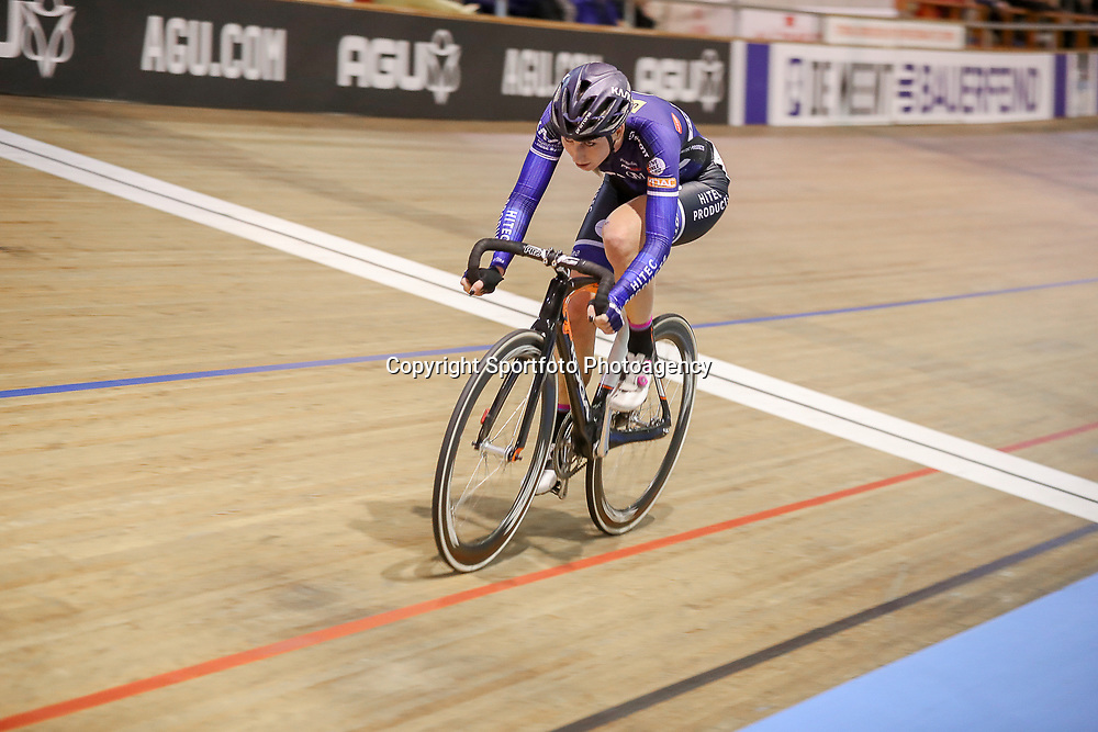 27-12-2017: Wielrennen: NK Baan: Alkmaar <br /> Nina Kessler