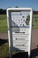 AMERICA (Neth.) - Vogels in de baan. Golfbaan Golfhorst. COPYRIGHT KOEN SUYK