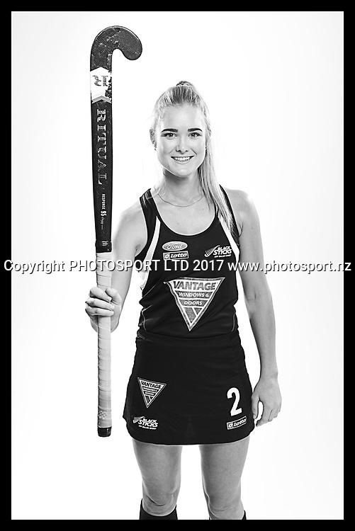 Samantha Harrison, New Zealand Black Sticks women, national hockey team photoshoot. Photosport Studio, Auckland. August 2017, Copyright Image: Andrew Cornaga / www.photosport.nz