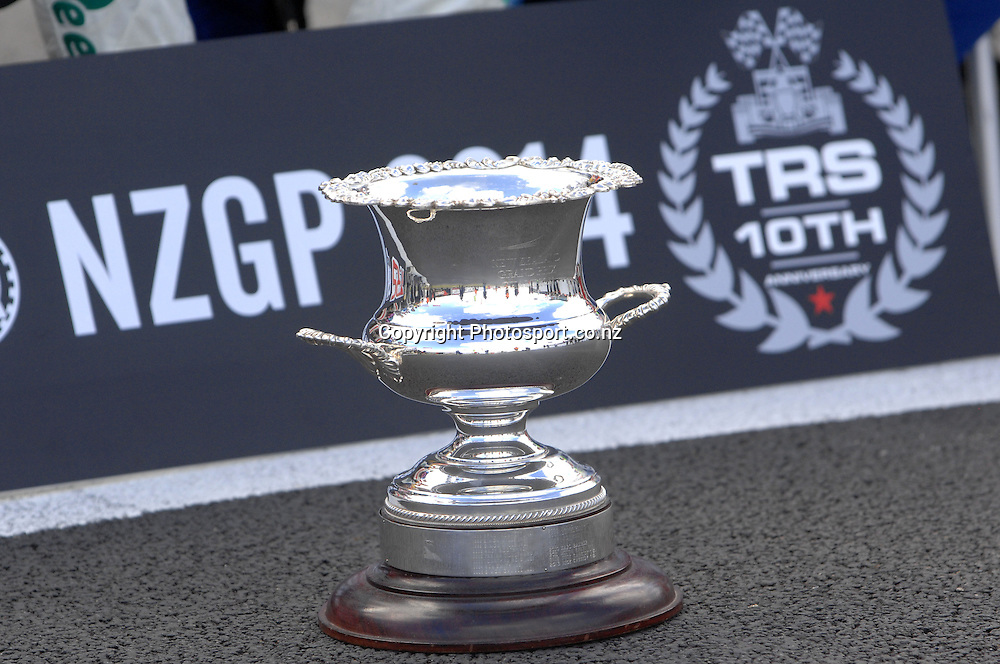 The New Zealand Grand Prix Trophy raced for the 10th year by the Toyota Racing Series.