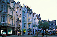 DEU, Germany, Aachen, houses at the Muenstersquare....DEU, Deutschland, Aachen, Haeuser am Muensterplatz ........