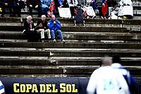 Fotball, 28. januar 2012 , Copa del Sol<br /> Molde FK – FC Olimpija Ljubliana 2-1<br /> illustrasjon , tribune , publikum , norske flagg