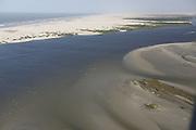 Barreirinhas_MA, Brasil.<br /> <br /> Parque Nacional dos Lencois Maranhenses em Barreirinhas, Maranhao. Na foto, a praia de Cabure com o Rio Preguicas ao lado.<br /> <br /> Lencois Maranhenses National Park in Barreirinhas, Maranhao. In this photo Cabure beach and Rio Preguicas.<br /> <br /> Foto: LEO DRUMOND / NITRO