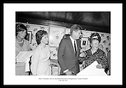 The picture shows President Kennedy and his sister, Mrs. Eunice Shriver, (left) with his relatives in the old Kennedy homestead in Dunganstown, Co. Wexford.  Mrs. Mary Ryan (right) Mimes Josephine (2nd Left) and Mary Anne (daughter).  <br />