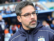 Dave Vagner manager of Huddersfield Town during the Sky Bet Championship match at the John Smiths Stadium, Huddersfield against Burnley<br /> Picture by Graham Crowther/Focus Images Ltd +44 7763 140036<br /> 12/03/2016