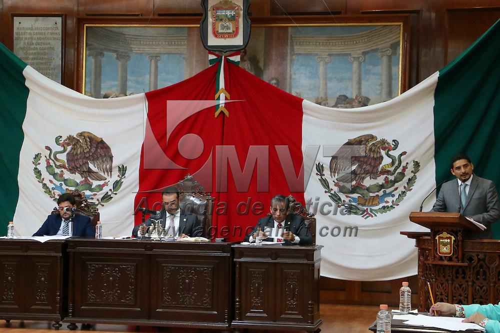 Toluca, México (Septiembre 01, 2016).- Integrantes de la LIX Legislatura del Estado de México se sumaran a la entrega de reconocimientos a los 12 deportistas mexiquenses que participaron en los Juegos Olímpicos de Río de Janeiro 2016.  Agencia MVT / José Hernández.