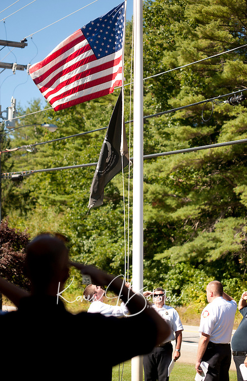 Gilford Fire Department tribute to fallen firefighters  September 11, 2010.