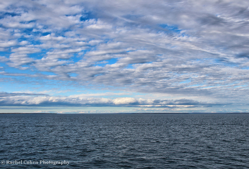 &quot;Straits of Mackinac&quot;<br /> <br /> Enjoy the beautiful waters, and magnificent endless sky near Mackinac Island in the Straits of Mackinac!!<br /> <br /> The Great Lakes by Rachel Cohen