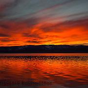 Bear Lake sunset. Utah Valentines evening 2015