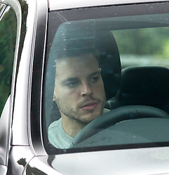 © Licensed to London News Pictures. 17/12/2015. London, UK. César Azpilicueta leaves the Chelsea FC training ground after Jose Mourinho was sacked as manager of Chelsea Football Club today (December 17, 2015) Photo credit: Peter Macdiarmid/LNP