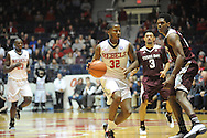 "Mississippi Rebels guard Jarvis Summers (32) vs. Texas A&M at the C.M. ""Tad"" Smith Coliseum in Oxford, Miss. on Wednesday, February 4, 2015. (AP Photo/Oxford Eagle, Bruce Newman)"