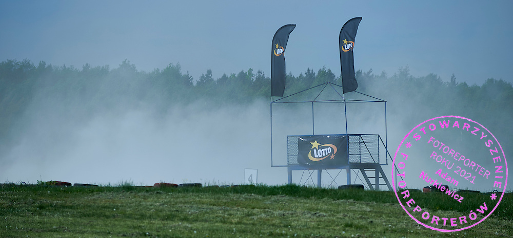 Lotto signs during training session on rally cross track on May 19, 2015 in Slomczyn, Poland<br /> <br /> Poland, Slomczyn, May 19, 2015<br /> <br /> Picture also available in RAW (NEF) or TIFF format on special request.<br /> <br /> For editorial use only. Any commercial or promotional use requires permission.<br /> <br /> Adam Nurkiewicz declares that he has no rights to the image of people at the photographs of his authorship.<br /> <br /> Mandatory credit:<br /> Photo by &copy; Adam Nurkiewicz / Mediasport