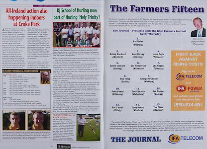 All Ireland Senior Hurling Championship - Final,.11.09.2005, 09.11.2005, 11th Septemeber 2005,.Minor Galway 3-12, Limerick 0-17,.Senior Cork 1-21, Galway 1-16,.11092005AISHCF,.The Journal, IFA Telecom,