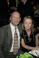 Roll of honour inductee Michael Eavis and daughter Emily