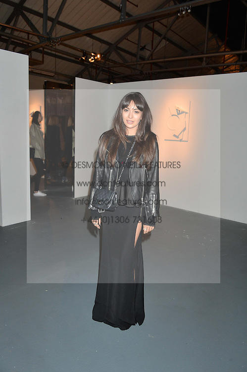 ZARA MARTIN at the Women for Women International Catwalk Show & Auction in partnership with Brown's and sponsored by Swarovski held at The Vinyl Factory, Brewer Street Space, Brewer Street, London on 20th November 2014.