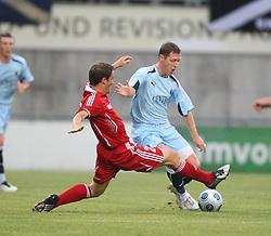 Burton O'Brein<br /> Vaduz v Falkirk FC train at the Rheinpark Stadium for their Europa League second-round qualifier against Vaduz in Liechtenstein.<br /> ©2009 Michael Schofield. All Rights Reserved.