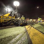 Nightwork at SAN Runway Rehibiltation