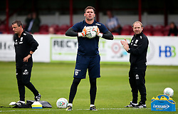 West Brom's Ben Foster warms up - Mandatory by-line: Matt McNulty/JMP - 22/08/2017 - FOOTBALL - Wham Stadium - Accrington, England - Accrington Stanley v West Bromwich Albion - Carabao Cup - Second Round