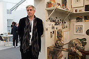 NEIL WENMAN CURATOR OF THE FICTIONAL ARTIST STUDIO HAUSER AND WIRTH, Frieze 2016, Regent's Park. London,