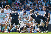 Francois Van Der Merwe - 05.04.2015 - Racing Metro 92 / Sarances - 1/4Finale European Champions Cup<br />