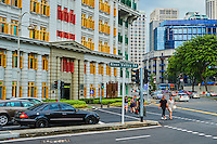 Singapour, le quartier colonial et Boat Quay // Singapore, Colonial District and Boat Quay