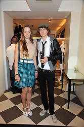 MORWENNA LYTTON COBBOLD and MATTHEW LASKEY at the PPQ of Mayfair Summer Party at 47 Conduit Street, London on 30th July 2008.<br /> <br /> NON EXCLUSIVE - WORLD RIGHTS