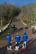 Hawkstone invited MXY2 riders, most of whom were on 125cc machines. It was nice to hear the 1/8th liters screaming up the famous hill in practice. Unfortunately, the hill was closed for the races.