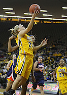 February 24 2011: Iowa Hawkeyes guard Jaime Printy (24) puts up a shot during the first half of an NCAA women's college basketball game at Carver-Hawkeye Arena in Iowa City, Iowa on February 24, 2011. Iowa defeated Illinois 83-64.