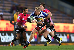 Scott van Breda of Western Province is tackled by Tyler Fisher of the Pumas during the Currie Cup Premier Division match between the DHL Western Province and the Pumas held at the DHL Newlands rugby stadium in Cape Town, South Africa on the 17th September  2016<br /> <br /> Photo by: Shaun Roy / RealTime Images