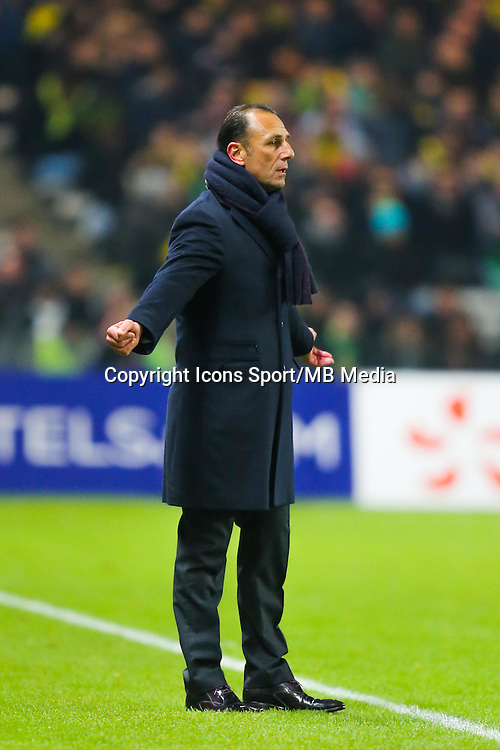 Michel DER ZAKARIAN  - 20.01.2015 - Nantes / Lyon  - Coupe de France 2014/2015<br /> Photo : Vincent Michel / Icon Sport