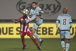 November 25, 2017 - Aves, Guimaraes, Portugal - Porto's Brazilian defender Alex Telles during the Premier League 2017/18 match between CD Aves vs FC Porto at the Aves stadium in Vila das Aves on November 25, 2017. (Credit Image: © Dpi/NurPhoto via ZUMA Press)