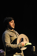 """John Strauss sings during the performance of Price Walden's """"Leaves of Green"""" opera at the Southern Foodways Alliance's 2011 """"Cultivated South"""" Symposium at the Lyric in Oxford, Miss. on Sunday, October 30, 2011."""