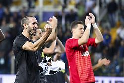 September 1, 2018 - Parma, Italy - Juventus defender Giorgio Chiellini (3) during the Serie A football match n.3 PARMA - JUVENTUS on 01/09/2018 at the Ennio Tardini in Parma, Italy. (Credit Image: © Matteo Bottanelli/NurPhoto/ZUMA Press)