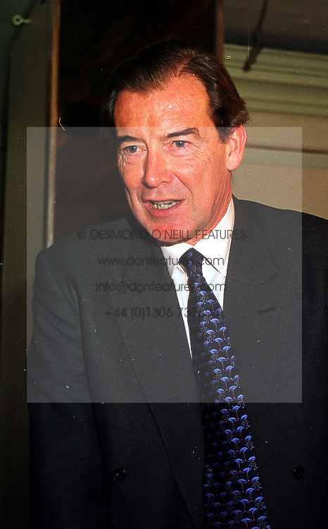 LORD LANG OF MONKTON at a lunch in London on 15th October 1999.<br /> MXW 79