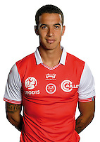 Diego Rigonato of Reims during the photocall of Reims for new season of Ligue 2 on September 29th 2016 in Reims<br /> Photo : Stade de Reims / Icon Sport