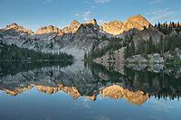 Alice Lake Sawtooth Mountains Idaho