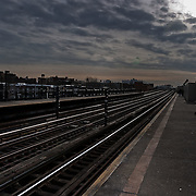 Train station in the Queens.