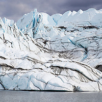 A view of the Matanuska Glacier in Alaska. © John McBrayer