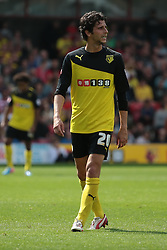 Watford's Diego Fabbrini  - Photo mandatory by-line: Nigel Pitts-Drake/JMP - Tel: Mobile: 07966 386802 25/08/2013 - SPORT - FOOTBALL -Vicarage Road Stadium - Watford -  Watford v Nottingham Forest - Sky Bet Championship