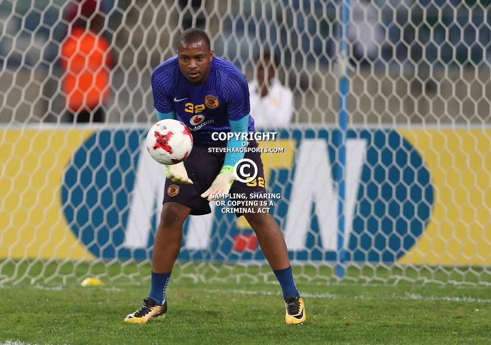 DURBAN, SOUTH AFRICA - AUGUST 12: Itumeleng Khune G/K of Kaizer Chiefs during the MTN 8 Quarter Final between Kaizer Chiefs and SuperSport United at Moses Mabhida Stadium on August 12, 2017 in Durban, South Africa. (Photo by Gallo Images)