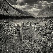 Abandoned sheep fank, Glen Coe