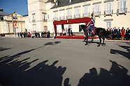 102914 Spanish Royals Receive Michelle Bachelet Chilean President at El Pardo Palace