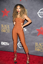 August 6, 2017 - New Jersey, U.S - LUCKI STARR, at the Black Girls Rock 2017 red carpet. Black Girls Rock 2017 was held at the New Jersey Performing Arts Center in Newark New Jersey. (Credit Image: © Ricky Fitchett via ZUMA Wire)