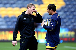 Worcester Warriors' backs coach, Sam Vesty - Mandatory by-line: Robbie Stephenson/JMP - 28/01/2017 - RUGBY - Sixways Stadium - Worcester, England - Worcester Warriors v Harlequins - Anglo Welsh Cup